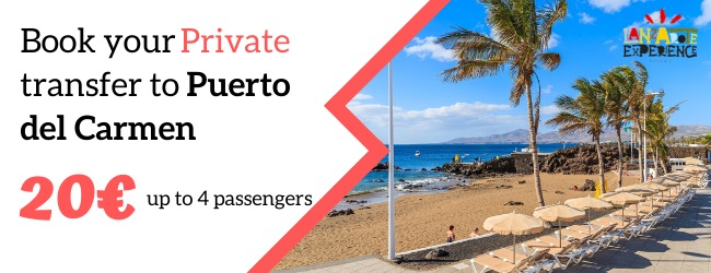 Private transfer with Lanzarote Experience Tours