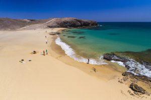 mejores playas de lanzarote papagayo