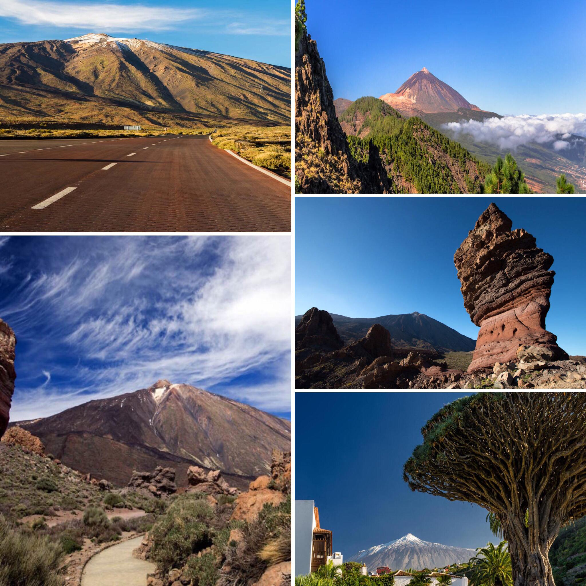 Teide Mountain National Park.