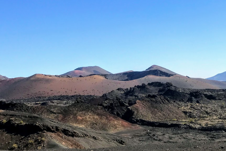Corazoncillo volcano at Timanfaya