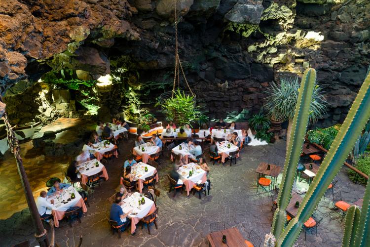 Jameos del Agua, Restaurant