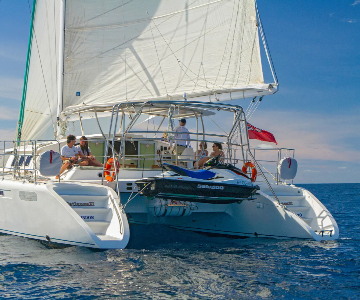 Excursión privada en Catamaran